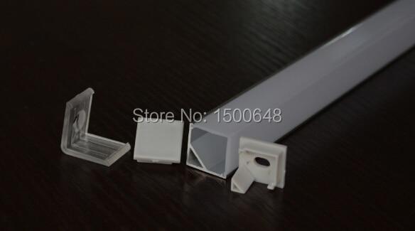 Perfil de aluminio de la longitud LED de 25pcs / lot 1m para la barra - Iluminación LED - foto 3
