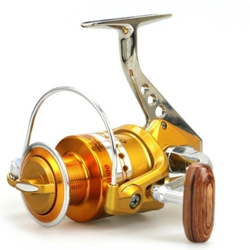 Reel memancing logam, Berputar gulungan baitcasting, Molinete - Penangkapan ikan
