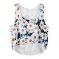 COCKCON Summer Casual Women Crop Emoji Tank Tops Vest Sleeveless Cartoon Beach Tanks T-Shirt NEW