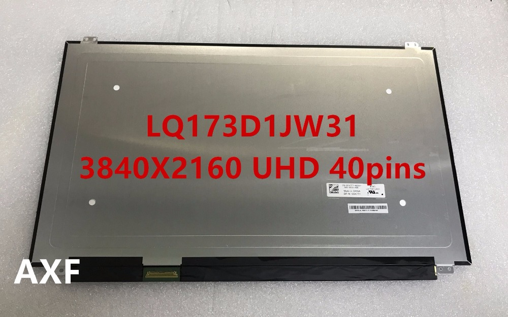 17.3 4K LED LCD Screen LQ173D1JW31 LQ173D1JW33 For Dell Alienware 17 R3 0CK7T7 3840X2160 UHD thermostat housing assembly yu3z8a586aa 902204 yu3z8a586 97jm9k478ae for d explore r 4 0l v6 for d range r