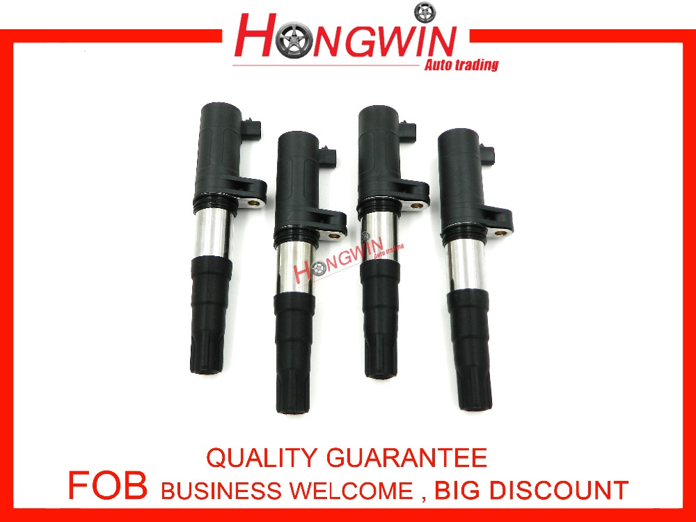 4Pcs 8200765882 Ignition Coil For Renault Megane Mk3 08 13 Grand Scenic 04 09 Scenic 01