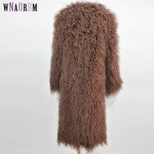 2019 Natural beach wool   Woven coat  mongolia sheep fur coat Natural fur coats are stylish and personalized for warmth oyuntuya shagdarsuren tackling isolation in rural mongolia