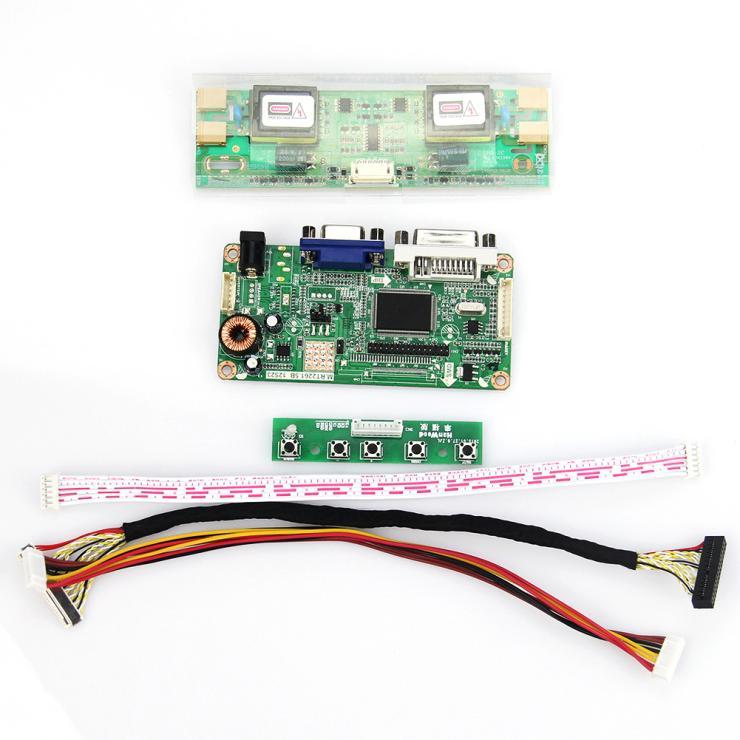 19 Inch 1280*1024  For M190EN01 LM190E08 LCD Controller Board (VGA DVI)