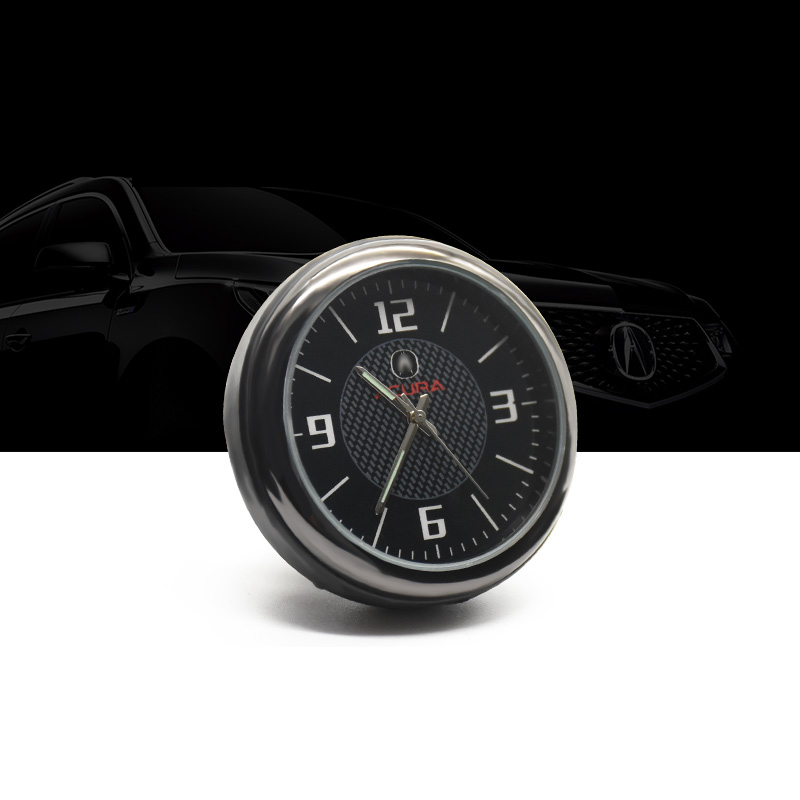 Lsrtw2017 Durable Car Interior Clock Watch Trims For Acura