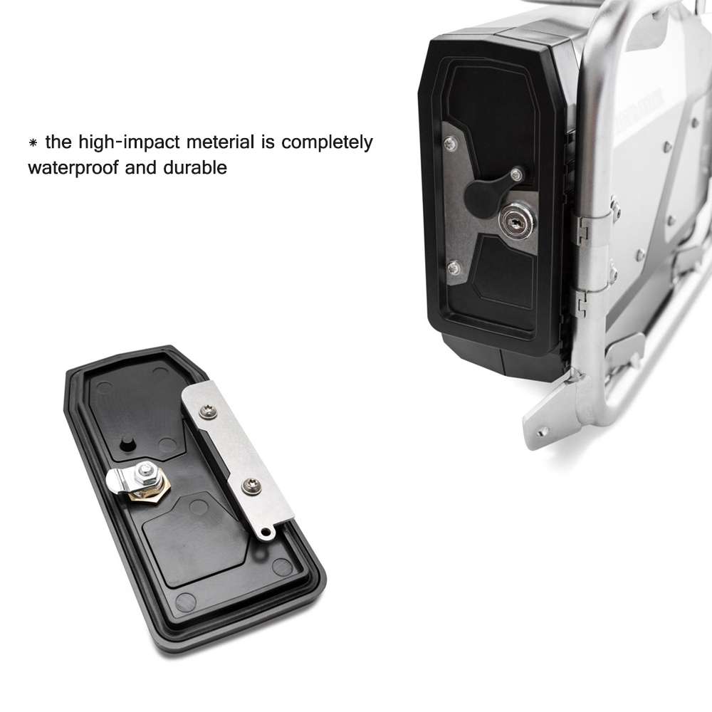 Image 3 - New Arrival! Tool Box For BMW r1250gs r1200gs lc & adv Adventure 2002 2008 2018 for BMW r 1200 gs Left Side Bracket Aluminum box-in Covers & Ornamental Mouldings from Automobiles & Motorcycles