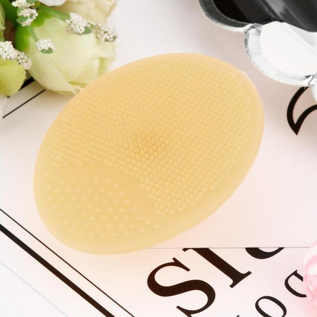 Colorful Exfoliating Facial Cleansing Silicone Pad