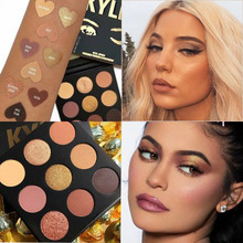 The 9 Color Sorta Sweet Palette Covered Eyeshadowe, Blusher, Highlighter Velvety Smooth Texture