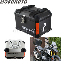 Motorcycle Top Case Scooter Trunk Tail Box Rear Luggage Case 45L Pannier Cargo for BMW R1200 Honda NC CB Suzuki Universal