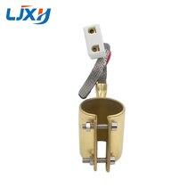 LJXH elemento calefactor calentador de banda de bronce 220V 200W/250W/280W/150W/180W 35x4 5mm/35x5 0mm/36x35mm para máquina de inyección de plástico 1 unidad