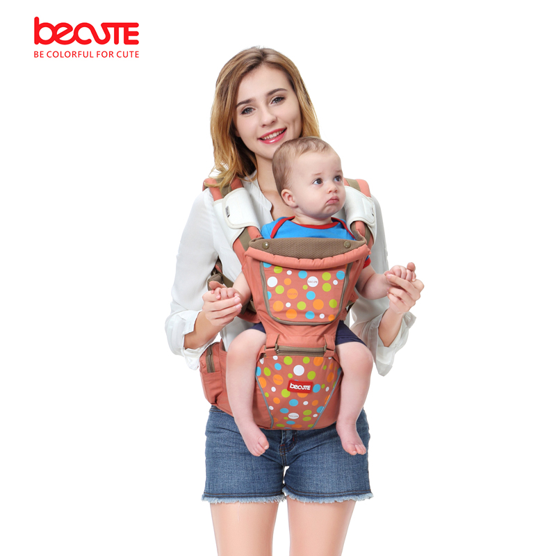 Becute baby carrier sling children's backpack comfort baby kangaroo Ergonomic new adjustable hipseat for newborn 0-36 Months brand ergonomic baby carrier breathable front facing infant baby sling backpack pouch wrap baby kangaroo for baby newborn sling