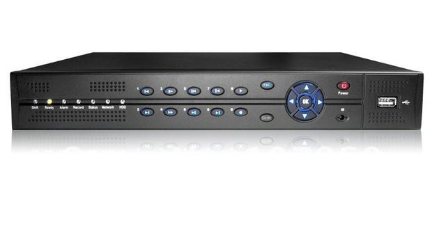 Free shipping , 4 Channel H.264 network cctv dvr ,hottest model