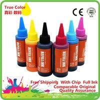 Premium Spezialisiert Refill Dye Tinte Kit Für EPSON Stylus Photo R200 R220 R300 R300M R320 R340 RX500 RX600 RX620 RX640
