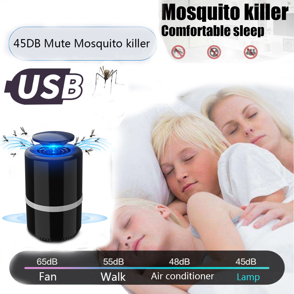 Mosquito Repeller Indoor Outdoor Mosquito Killer Electric Fly Bug Zapper Mosquito Insect Killer LED Light Trap Lamp Pest Control