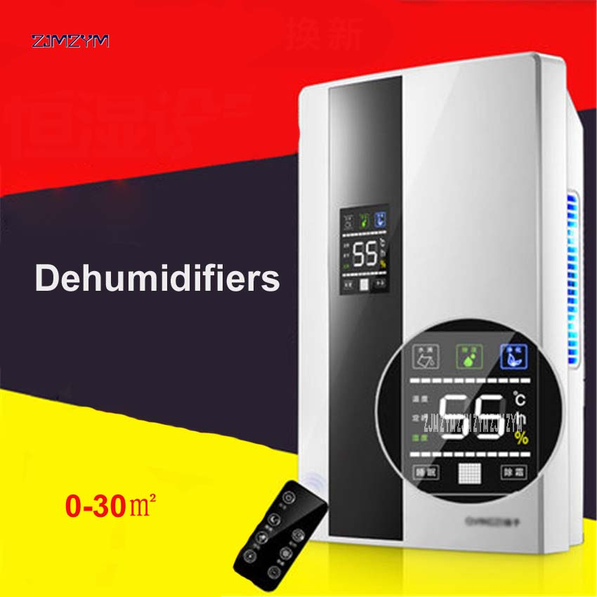 CS10E Mini Dehumidifier for Home Portable 2200ML Moisture Absorbing Air Dryer with Auto-off and LED indicator Air Dehumidifier ...