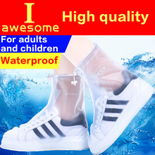 купить Waterproof Overshoes Reusable Shoe Covers Thicker Shoes Protector Boots Cover Rain Cover for Men&Women&Children Rain Boots дешево