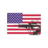 EE. UU. Bandera antideslizante Puerta Mat Decoración, Bandera americana con NOSOTROS Marina Al Aire Libre de Interior Felpudo de Entrada De Apoyo de Goma
