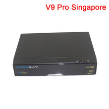 Freesat V9 Pro dvb-c/t2 newer than V8 golden qbox 5000hdc for Singapore hd receiver free watch football games in stock(China)