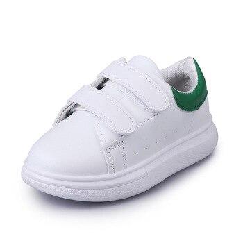 JUSTSL 2018 primavera verão novos sapatos casuais moda crianças sapatilhas meninos meninas sapatos de desporto branco sapatos de bebê da criança para as crianças