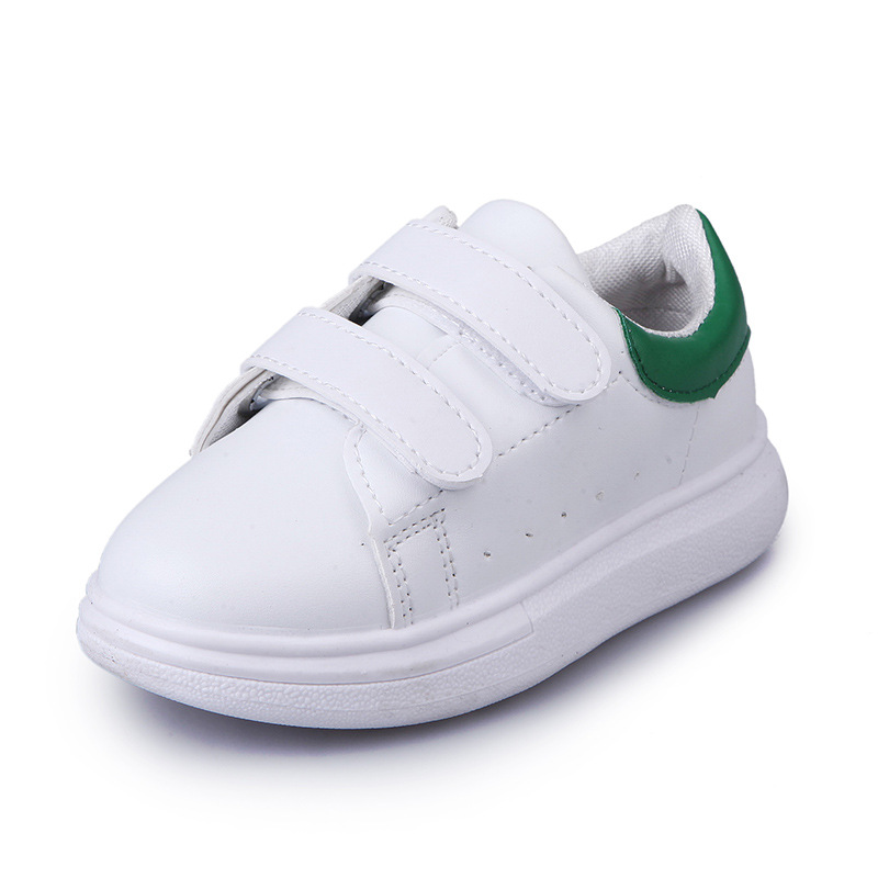 JUSTSL 2018 Spring Summer New Casual Shoes Children Fashion Sneakers Boys Girls White Sport Shoes Baby Toddler Shoes For Kids