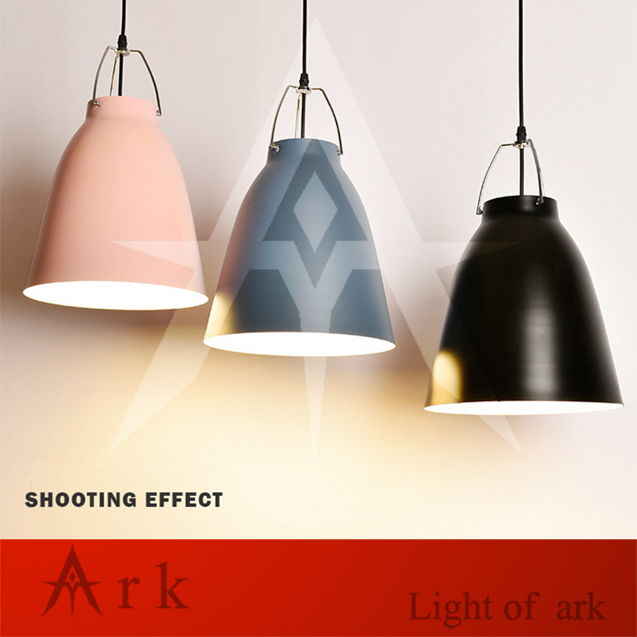 Modern Art colorful painted bell shape Pendant Lamps Classic Dining Room Bar restaurant Light  show room|Pendant Lights| |  - title=