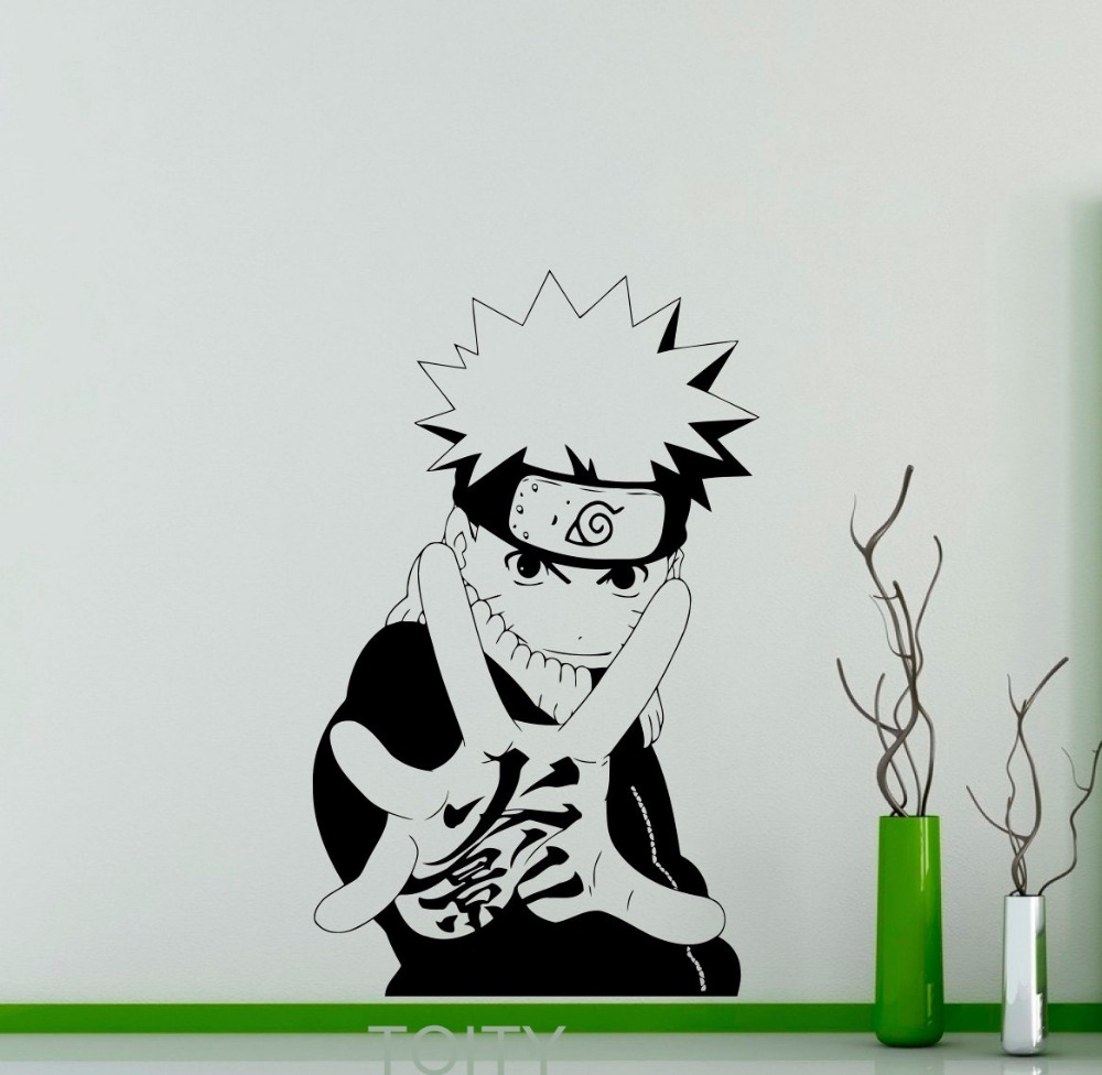 Uzumaki Naruto Wall Decal Japanese Manga Vinyl Sticker Anime