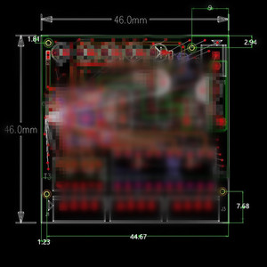 Image 5 - שת 3 יציאות מתג מודול PCBA 4 פיני UTP PCBA מודול עם תצוגת LED בורג חור מיצוב מיני מחשב נתונים OEM מפעל
