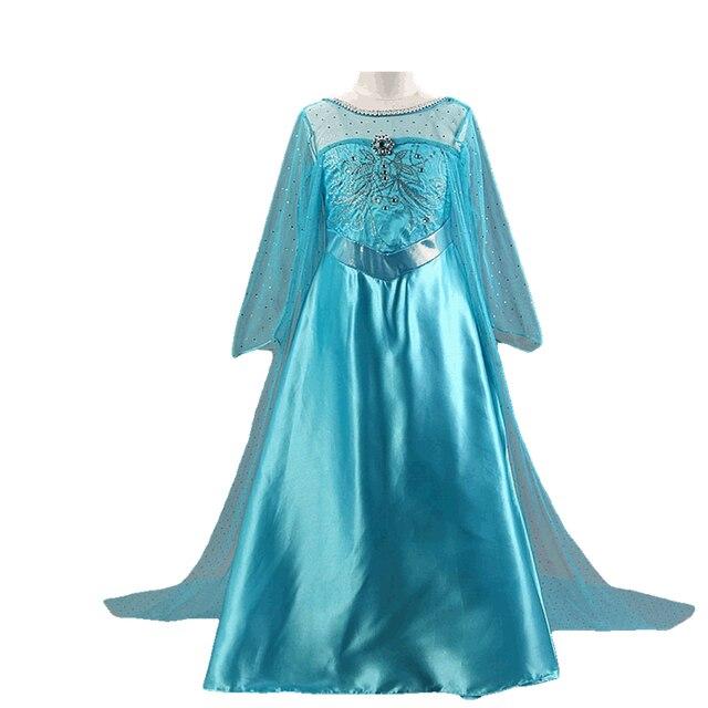 99de06b9e7 Disney Congelado Baby Girl Tutu Vestido Colorido Da Princesa Meninas  Vestidos de verão Lace Malha Roupa