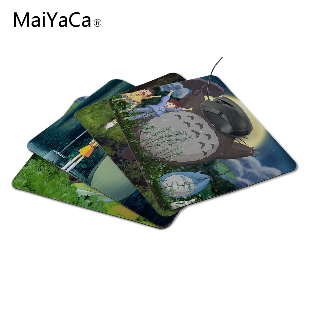 Provided Hhd-gj New Anti-slip Pc My Neighbour Totoro Anime Umbrellas Silicon Mouse Pad Mat Mice Pad For Optical Free Shipping Mouse Pads Computer & Office