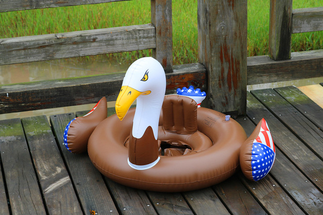Summer Holiday Fun Water Play Equipment America Eagle Swimming Baby ...