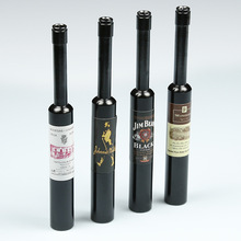 Mini Red Wine Smoke Metal Pipes Portable Creative Smoking Pipe Herb Tobacco Pipes Gifts narguile Weed Grinder Smoke Pipes