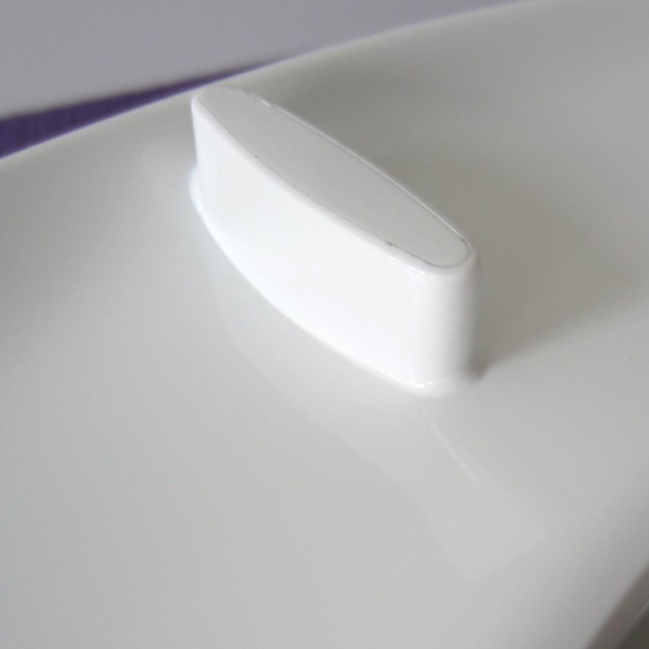 WC-Deckelabdeckung weich schließend hochwertiger weißer - Haushaltswaren - Foto 5