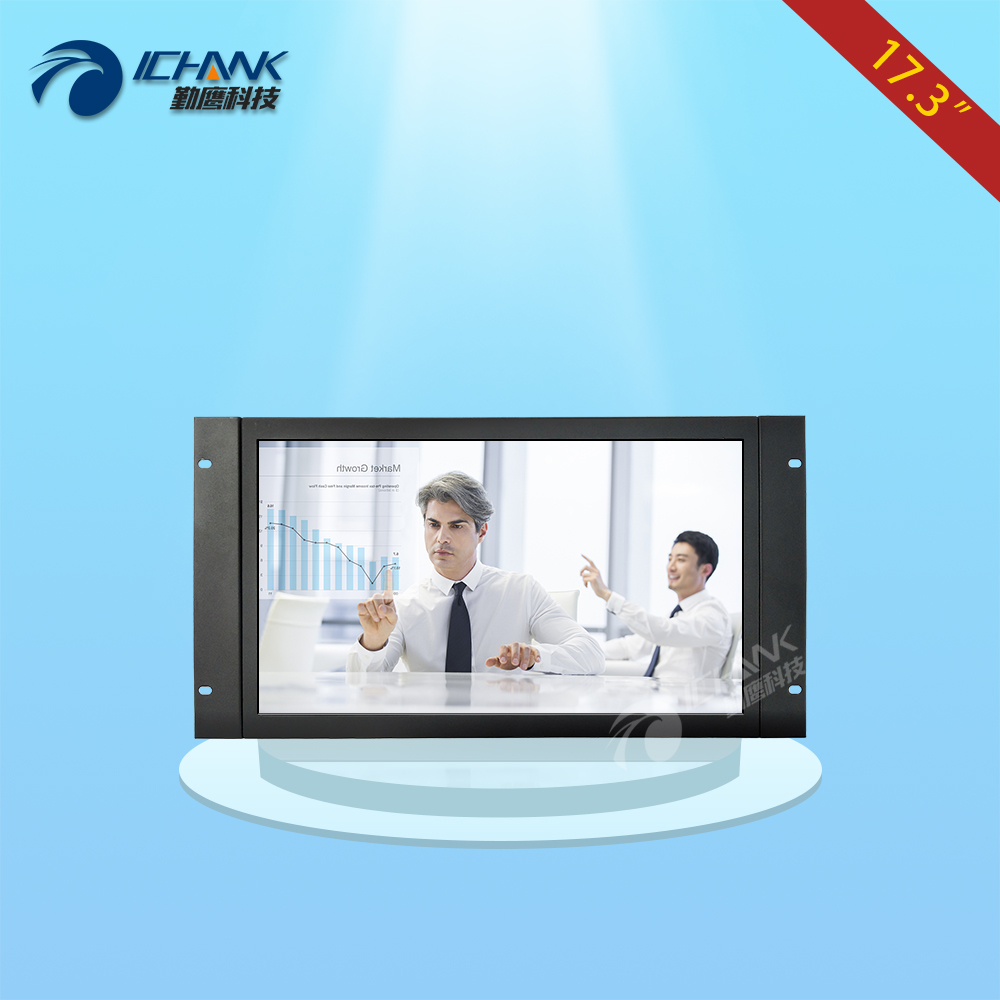 ZK173TC-V59/17.3 inch 1920x1080 16:9 1080p HDMI Metal Shell Embedded&Open Frame&Wall-mounted Industrial Touch Monitor LCD Screen zk101tc v59 10 1 inch 1280x800 full view hdmi vga metal shell embedded open frame industrial touch monitor lcd screen display