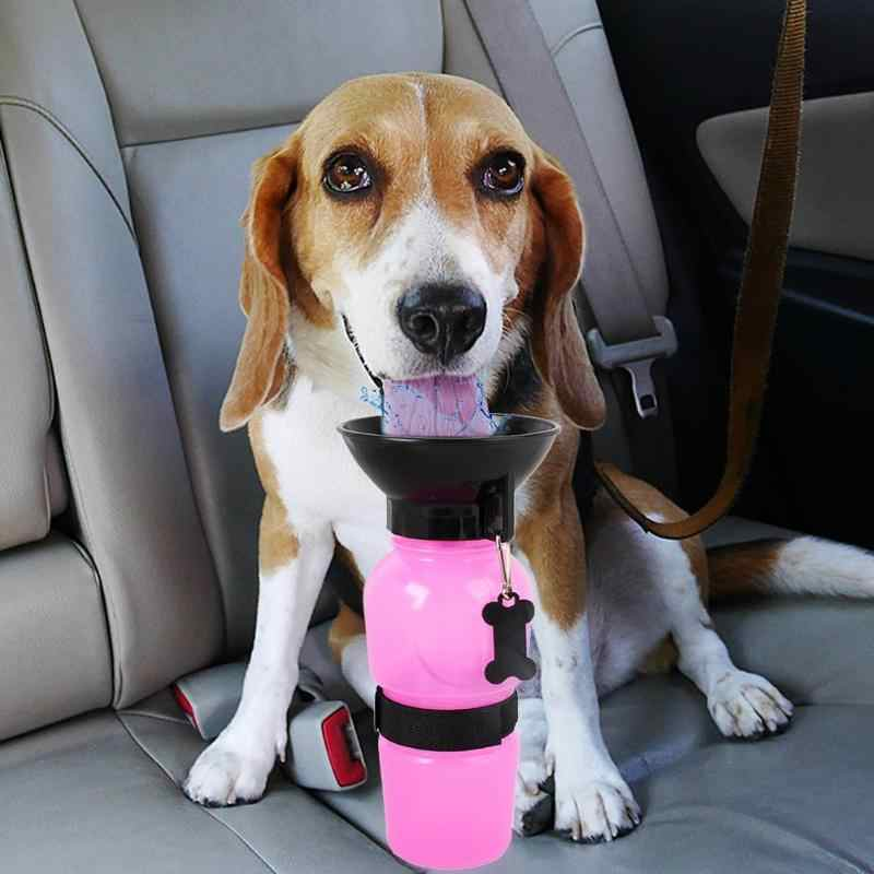 500 ミリリットル犬の水筒ペット子犬猫スポーツポータブルトラベル屋外犬水ボウル酒飲み飲料水マグカップディスペンサー