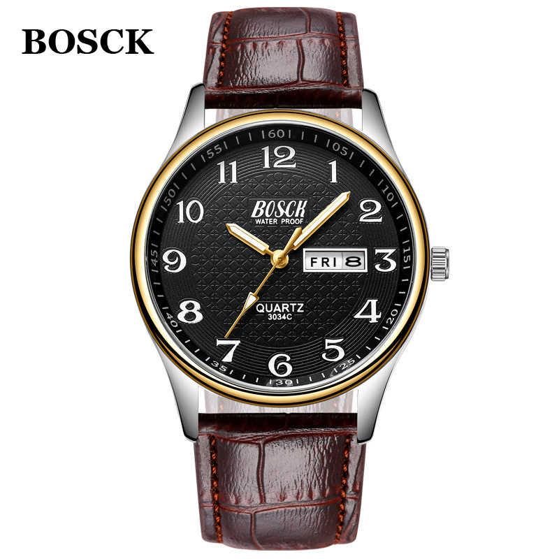 Relogio Masculino 2019 montre pour hommes de luxe en acier montres de mode montre-bracelet à Quartz étanche Date mâle horloge Relojes Hombre