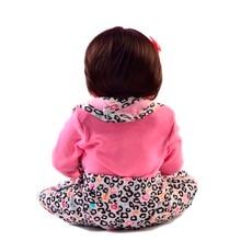 Lovely 23 Inch Reborn Baby Girl Dolls Full Body Silicone Vinyl Realistic 57 cm Reborn Dolls For Kids Birthday Gift