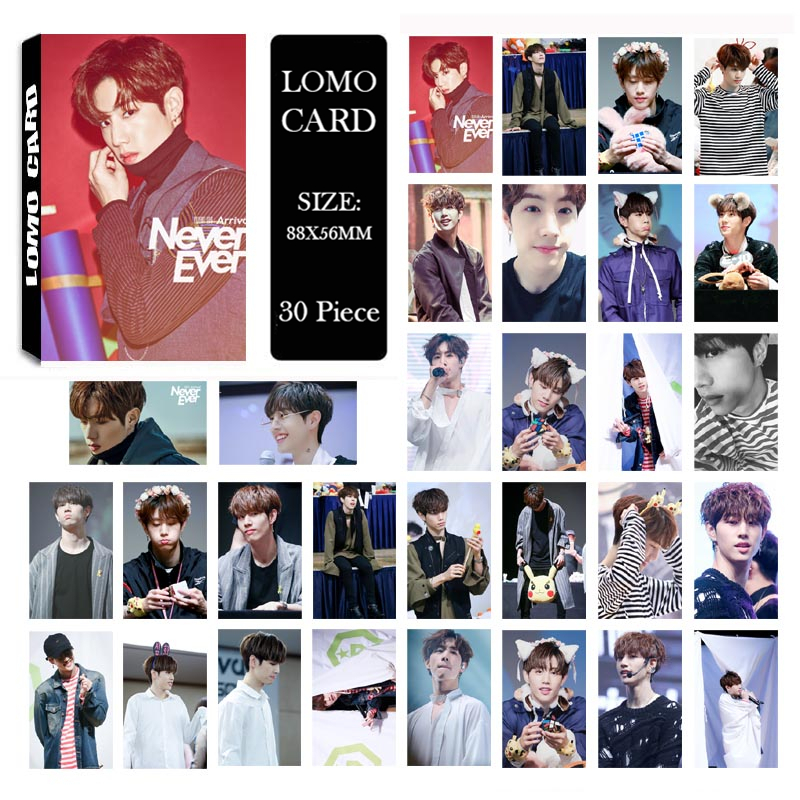 Kpop Got7 7 For 7 Album Lomo Cards Self Made Paper Photo Card Photocard Lk528 Beads & Jewelry Making
