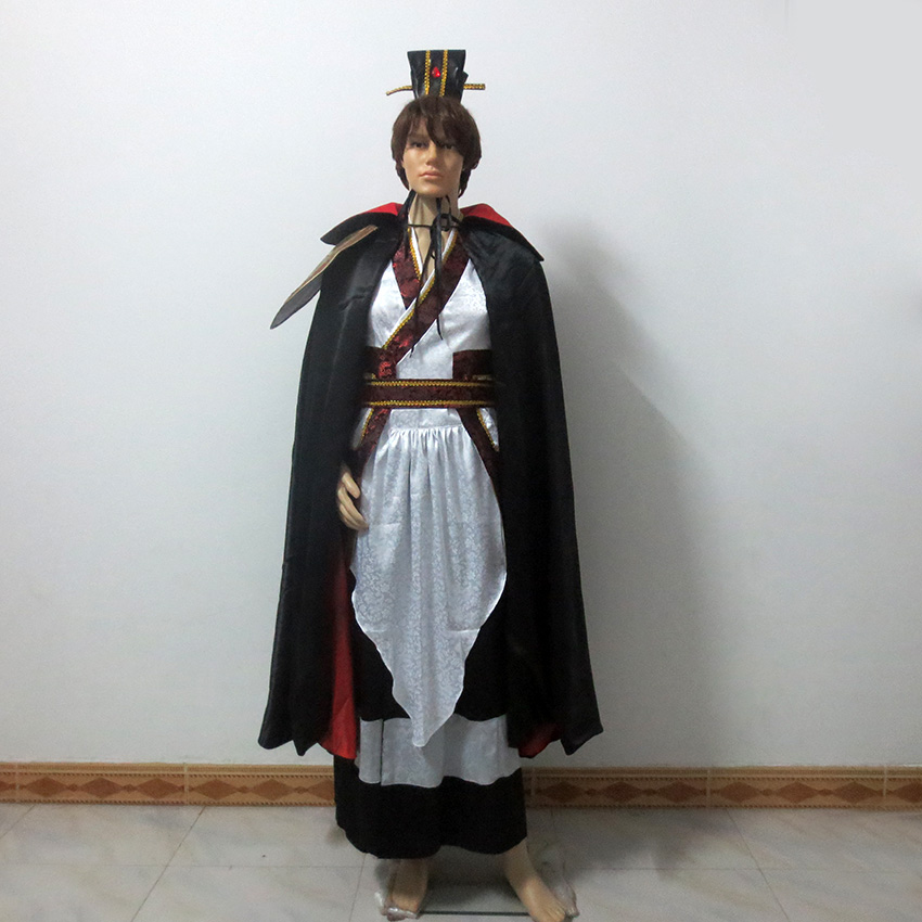 Magi The Labyrinth of Magic Kouen Ren Cosplay Costume Halloween Costumes Custom Made Any Size
