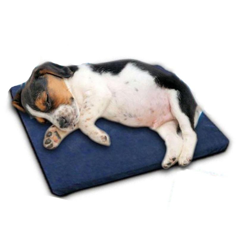 Venxuis Waterproof Pet Sleeping Pad Radiating Kennels Crates Water Injection Mat Cream Keeping Cool Dog Mat Summer Dog Mat