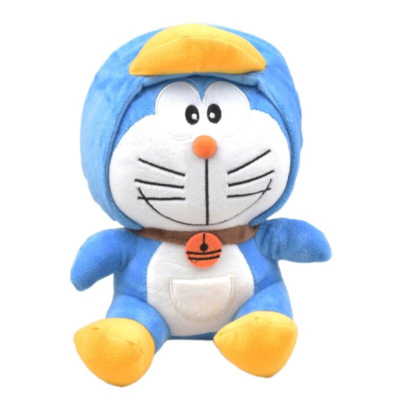 QICSYXJ Birthday Gift Supply 8 Inch Anime Plush font b Toy b font Doraemon Cosplay Penguin