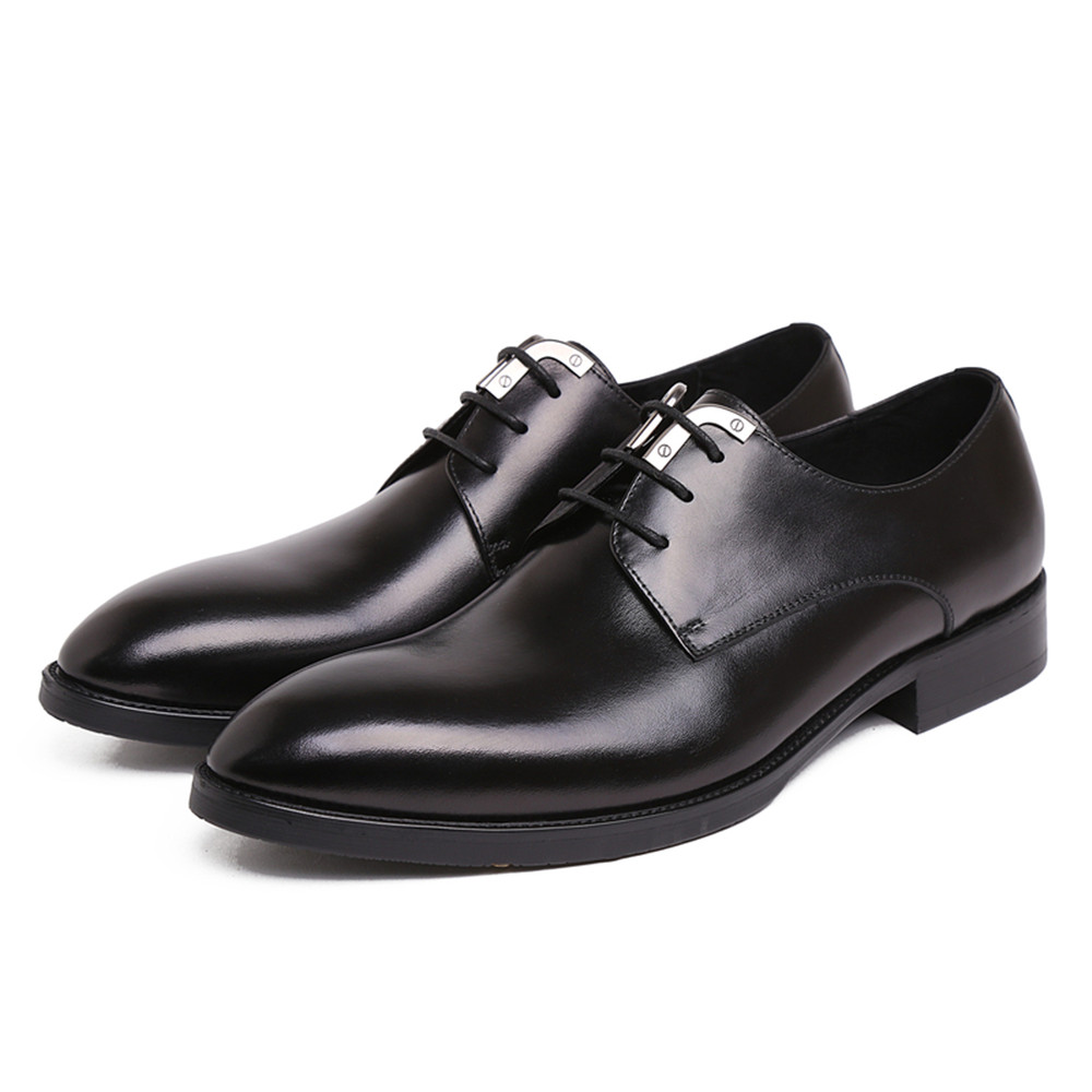 Brand New Style Mens Dress Shoes Genuine Leather Handmade Designer Wedding Male Shoes Male Flats for Business Oxfords 45 fashion top brand italian designer mens wedding shoes men polish patent leather luxury dress shoes man flats for business 2016