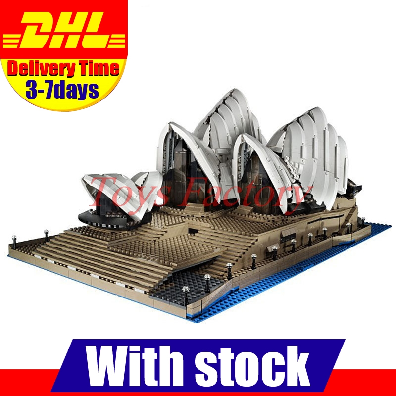 2018 New LEPIN 17003 2989Pcs City Series Sydney Opera House Model Building Kits Blocks Bricks Compatible Toys Gift 10234 lepin 17003 2989pcs sydney opera house model building kits blocks bricks toys compatible legoed 10222