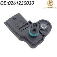 MAP Sensor 0261230030 PER FIAT PANDA PUNTO BRAVA stilo STILO LANCIA YPSILON 46533518 46553045  7084986-in Sensore di pressione da Automobili e motocicli su