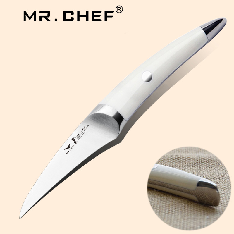 """3.5"""" inch Very Sharp Boning Knife German Steel X50 High Quality Fruit Potato Cutting Carving Tool Kitchen Knives Seagull Handle"""