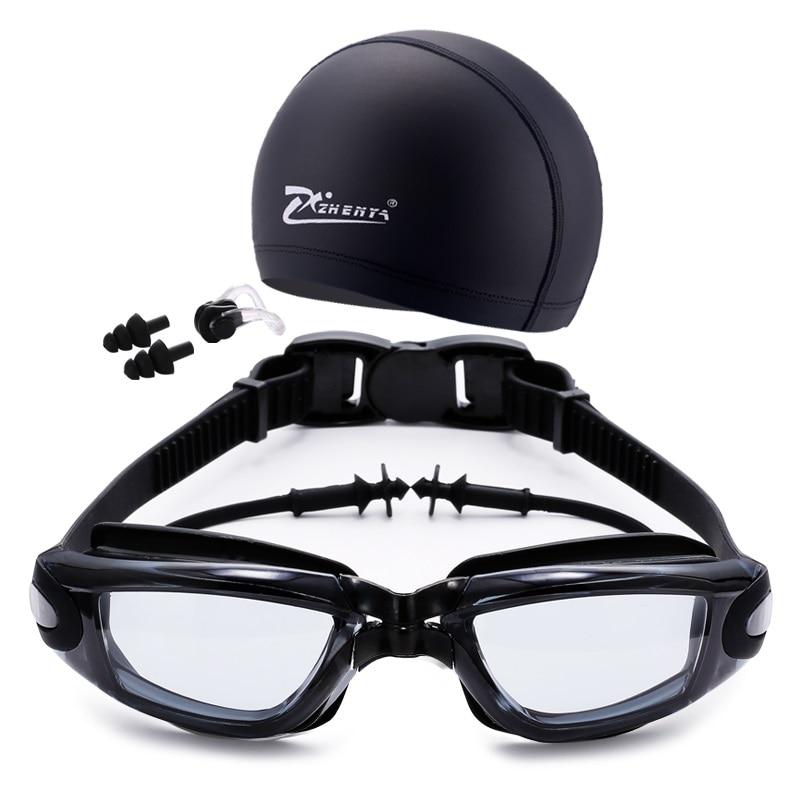 Juego de natación Gafas y tapón, nariz, clip y tapones para los - Ropa deportiva y accesorios