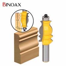 "Binoax 1/2 ""Vástago Molduras Arquitectónicas Router Bit"