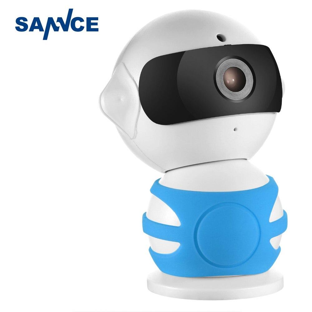 bilder für SANNCE Roboter Ip-kamera 960 P WiFi Drahtlose Ip-kamera Cctv kamera Zwei-wege Audio Baby Monitor Einfach QR CODE Scannen Verbinden