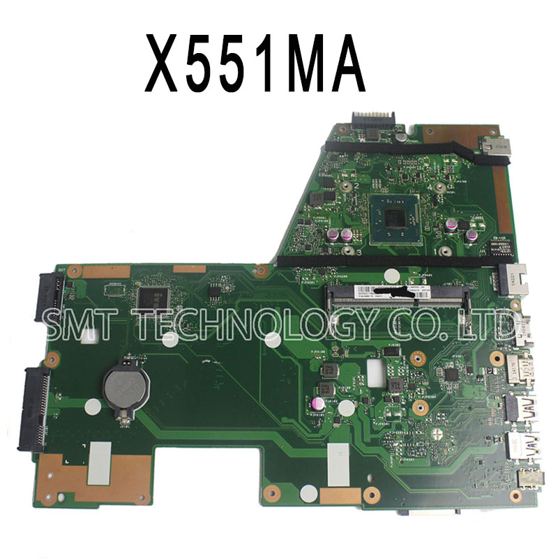 For ASUS F551MA R512MA D550MA X551MA Motherboard rev2 0 mainboard with N2830CPU 100 test free shipping