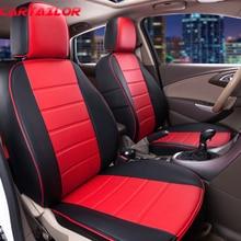 Cartailor Искусственная кожа сиденья пользовательские подходят для Peugeot 206 cc чехлы на сиденья аксессуары для интерьера вентилируемые сиденья поддержки подушки