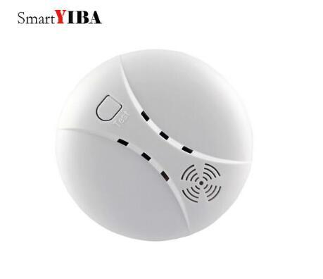 Smartyiba Детекторы дыма Беспроводной 433 мГц пожарной сигнализации Сенсор для g90b/yb103/yb104 сигнализации Панель дым/пожарная сигнал тревоги