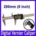 "8"" 200mm half metal Digital CALIPER VERNIER GAUGE MICROMETER vernier caliper MOQ=1"